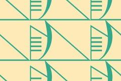 Fundo moderno de Art Deco ilustração do vetor