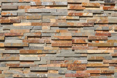 Fundo moderno do tijolo de Tan imagens de stock royalty free