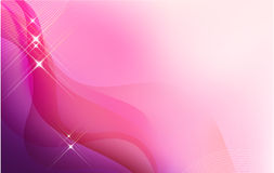 Fundo moderno na cor-de-rosa Imagens de Stock Royalty Free