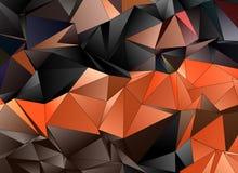 Fundo moderno triangular Baixo-poli abstrato foto de stock royalty free
