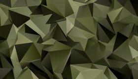 Fundo moderno triangular Baixo-poli abstrato imagem de stock royalty free