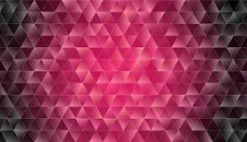 Fundo moderno triangular Baixo-poli abstrato foto de stock