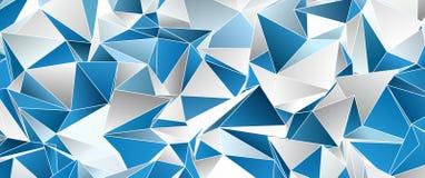 Fundo moderno triangular Baixo-poli abstrato fotos de stock royalty free