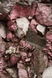 Fundo molhado da parede de pedra Textura de pedra fotos de stock