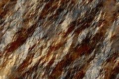 Fundo molhado da rocha Fotografia de Stock