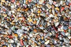 Fundo molhado da textura da areia Foto de Stock