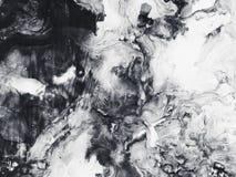 Fundo monocromático da arte abstrato, pintura da textura Imagem de Stock