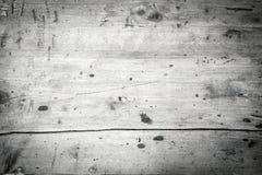 Fundo monocromático de placas de madeira velhas Imagens de Stock