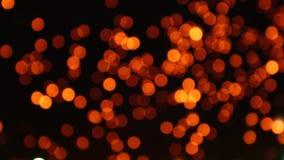 Fundo movente do ramalhete claro das lanternas vídeos de arquivo
