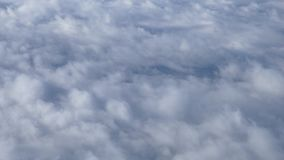Fundo movente 4K das nuvens video estoque