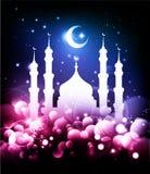 Fundo muçulmano Fotografia de Stock
