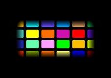 Fundo Multi-coloured Imagens de Stock Royalty Free