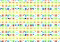 Fundo multi-coloured sem emenda do volume Foto de Stock