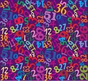Fundo multicolor sem emenda com dedos Imagem de Stock