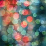 Fundo multicolorido de Bokeh Imagem de Stock
