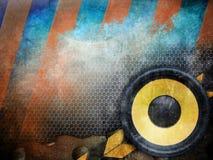 Fundo musical abstrato Imagens de Stock Royalty Free