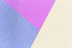 Fundo na moda de cores amarelas e roxas azuis Imagem de Stock Royalty Free