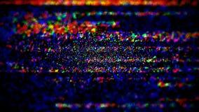 Fundo na moda distorcido grão colorido da textura do Grunge do ruído Imagem de Stock