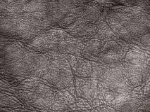 Fundo natural cinzento da textura da superfície do couro Fotos de Stock Royalty Free