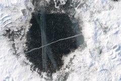 Fundo natural da paisagem da estação do inverno de Baikal Rússia imagens de stock