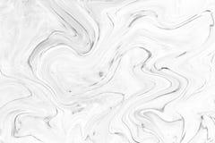 Fundo natural da textura de mármore branca do teste padrão Imagem de Stock Royalty Free