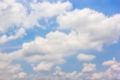 Fundo natural de céu azul Foto de Stock