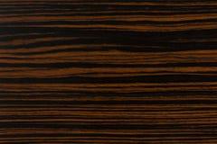 Fundo natural escuro da madeira do ?bano Textura de madeira extremamente de alta resolu? fotos de stock royalty free