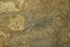 Fundo natural tonificado Sepia da textura da pedra do monte foto de stock royalty free
