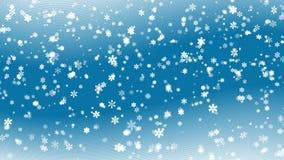 Fundo nevado abstrato azul