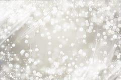 Fundo nevado branco brilhante, feriado ilustração royalty free