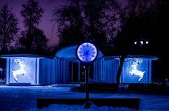 fundo nevado da beleza para seu projeto Foto de Stock Royalty Free