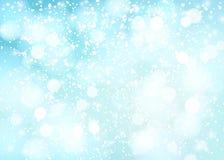 Fundo nevado do inverno Vetor ilustração stock
