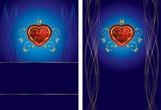 Fundo no dia dos Valentim Foto de Stock