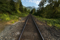 Fundo noroeste pacífico de Washington State Hiking Climbing Landscape Waterscape Imagens de Stock
