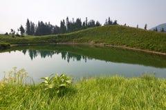 Fundo noroeste pacífico de Washington State Hiking Climbing Landscape Waterscape Fotografia de Stock Royalty Free