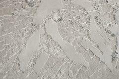Fundo novo do muro de cimento antes de unir a telha imagens de stock royalty free