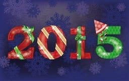 Fundo novo feliz de 2015 anos Imagens de Stock