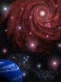 Fundo o céu da estrela Fotos de Stock Royalty Free