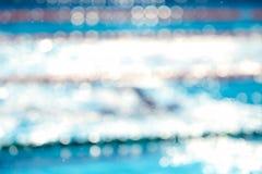 Fundo obscuro abstrato da piscina Fotos de Stock