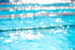 Fundo obscuro abstrato da piscina Fotos de Stock Royalty Free