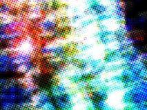 Fundo obscuro colorido abstrato dinâmico Imagem de Stock