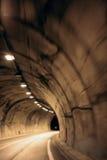 Fundo obscuro do túnel Imagem de Stock