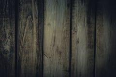 Fundo obsoleto das pranchas de madeira escuras velhas do vintage foto de stock royalty free