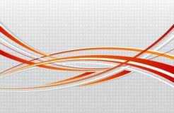 Fundo ondulado abstrato Foto de Stock