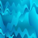 Fundo ondulado azul abstrato Imagem de Stock Royalty Free