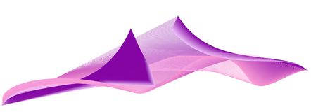 Fundo ondulado brilhante da cor do vetor Foto de Stock