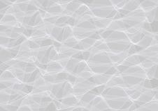 Fundo ondulado cinzento abstrato Imagens de Stock Royalty Free
