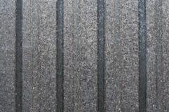 Fundo ondulado cinzento da textura do metal Imagem de Stock