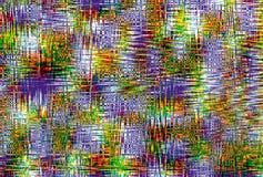 Fundo ondulado colorido arco-íris Retrato abstrato Fotos de Stock
