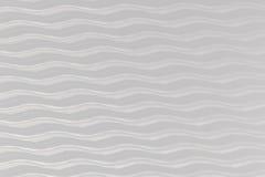 Fundo ondulado Decoração da parede interior teste padrão do painel 3D branco de ondas abstratas Foto de Stock Royalty Free